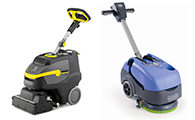 Battery Powered Scrubber Dryers