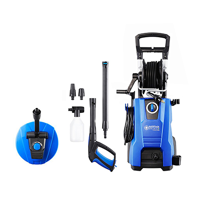 Nilfisk D-PG 140.4-9 X-tra Pressure Washer with Mid Patio Cleaner