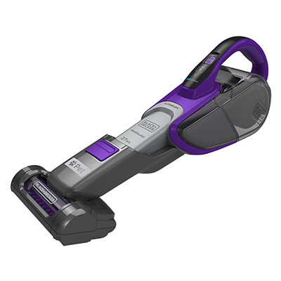 Black & Decker DVJ325BFSP Cordless Pet Dustbuster Hand Vac with Smart Tech Sensors