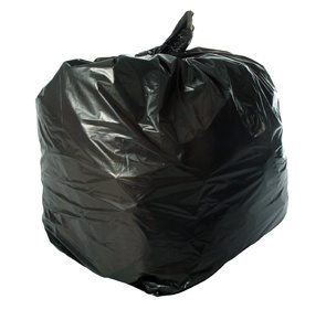 160 Gauge Black Refuse Sacks 18 X 32 X 38