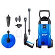 Nilfisk C110.7-5 X-tra Pressure Washer with Patio Cleaner & Wash Brush
