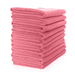 Microfibre Cloth - Lightweight (Pink) Pack of 10