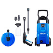 Nilfisk C110.7-5 X-tra Pressure Washer with Patio Cleaner & Rotary Wash Brush